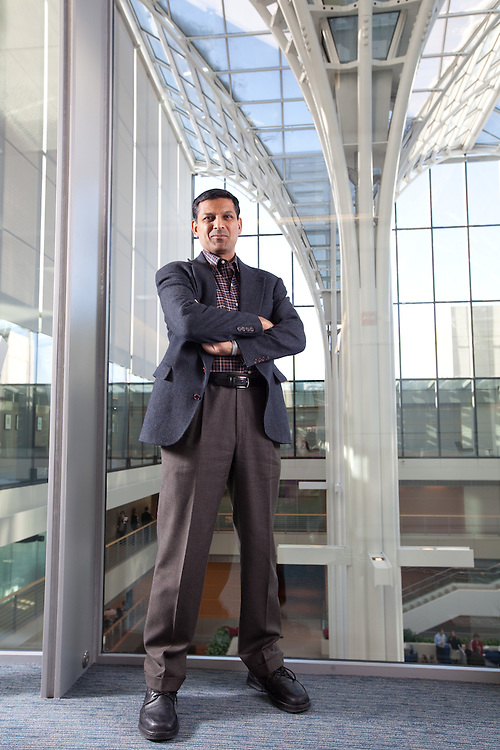 Professor Raghuram Rajan of the University of Chicago's Booth School of Business.
