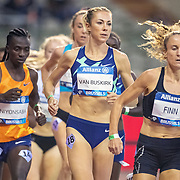 BRUSSELS, BELGIUM:  September 3: Kate Van Buskirk of Canada in action during the 5000m race for women during the Wanda Diamond League 2021 Memorial Van Damme Athletics competition at King Baudouin Stadium on September 3, 2021 in  Brussels, Belgium. (Photo by Tim Clayton/Corbis via Getty Images)