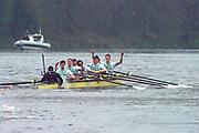 Greater London. United Kingdom, 164th. Men's  University Boat Race , Cambridge University vs Cambridge University Putney to Mortlake,  Championship Course, River Thames, London. <br /> <br /> Saturday  24/03/2018<br /> <br /> [Mandatory Credit:Intersport Images]