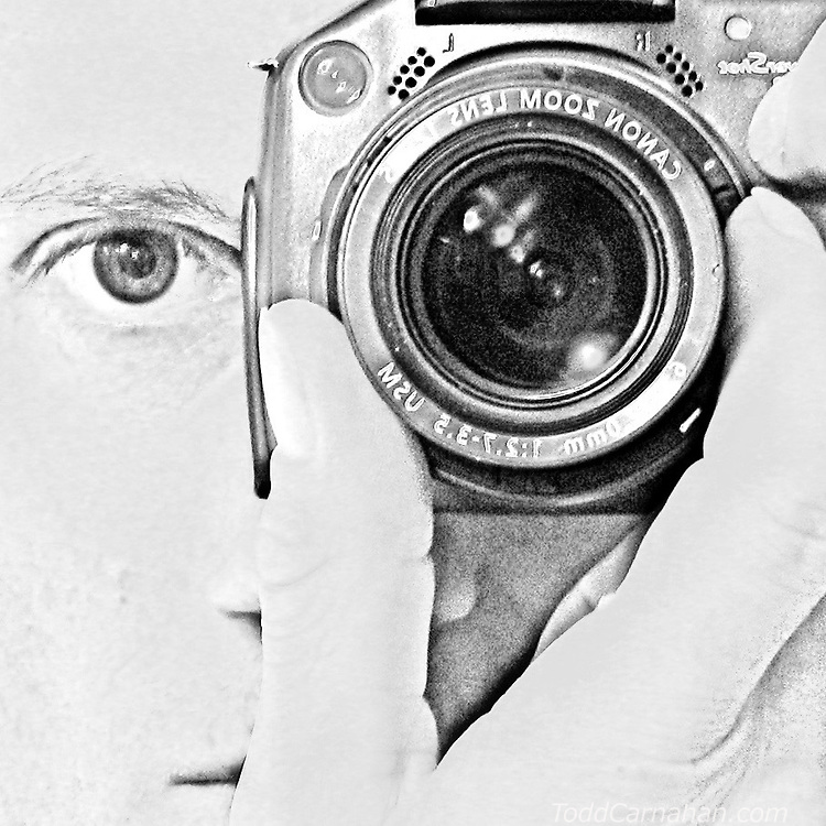 Self-portrait inspired by Man Ray's solarized exposures