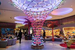 Level Shoes luxury shoe department store inside Dubai Mall, UAE, united Arab Emirates