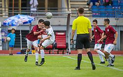 NK Rijeka vs SK Sturm during the Ljubljana Open Cup 2021. , on 12.06.2021 in ZAK Stadium, Ljubljana, Slovenia. Photo by Urban Meglič / Sportida