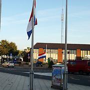 Vlaggen halfstrok ivm overlijden prins Claus