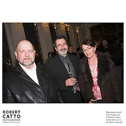 Graeme Tetley;William Kircher;Kathleen Drumm at the Out Of The Blue Premiere 06 at the Embassy Theatre, Wellington, New Zealand.<br />