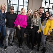 NLD/Muiden/20180214 - Kick off SBS Vet Fit, Irene Moors, Brace, Annemarie Jung, O'G3NE, Lisa Vol, Amy Vol en Shelley Vol en Rene Froger