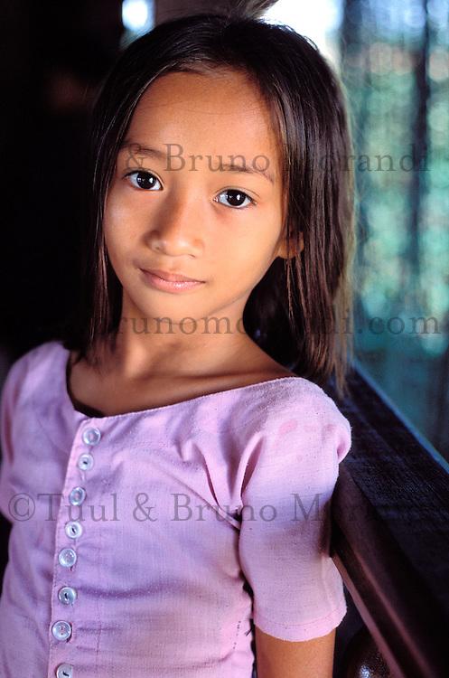 Cambodge, Phnom Penh, Ecole de danse khmer, Danse Apsara // Cambodia, Phnom Penh, Khmer dance school, Apsara dance