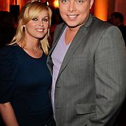 NLD/Hilversum/20120223 - Voorjaarspresentatie RTL5 2012, Bridget Maasland en Tony Wyczynski