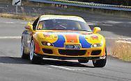 Chris McDermott & Peter Bailey.1999 Mazda RX7..Day 2.Targa Wrest Point 2009.Southern Tasmania.1st of February 2009.(C) Joel Strickland Photographics.