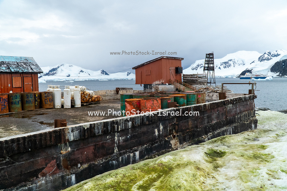 Argentinean Antarctic research station. Station Primavera (64º09'S 60º58'W). Located on Danco Coast, Gerlache Strait. Operational on March 8, 1977