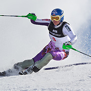 Veronika Zuzulova, Slovakia, in action during the Women's Slalom event during the Winter Games at Cardrona, Wanaka, New Zealand, 24th August 2011. Photo Tim Clayton...