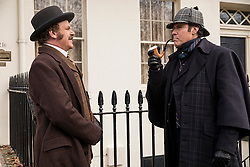 RELEASE DATE: December 21, 2018 TITLE: Holmes & Watson STUDIO: Columbia Pictures DIRECTOR: Etan Cohen PLOT: A humorous take on Sir Arthur Conan Doyle's classic mysteries featuring Sherlock Holmes and Doctor Watson. STARRING: JOHN C. REILLY as Watson, WILL FERRELL as Sherlock Holmes. (Credit Image: © Columbia Pictures/Entertainment Pictures/ZUMAPRESS.com)