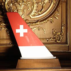 Swiss Air: Plane Antenna, DMC 50 type - Dorne & Margolin Inc. Swiss design furniture's sale at the Artcurial Gallery. Paris, France. 4/24/2009. Photo: Antoine Doyen