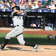 NEW YORK, NEW YORK - June 01:  Avisail Garcia #26 of the Chicago White Sox batting during the Chicago White Sox  Vs New York Mets regular season MLB game at Citi Field on June 01, 2016 in New York City. (Photo by Tim Clayton/Corbis via Getty Images)