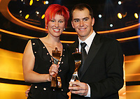 Idrettsgalla<br /> Foto: Witters/Digitalsport<br /> NORWAY ONLY<br /> <br /> 17.12.2006<br /> v.l. Kati Wilhelm, Michael Greis Sportlerin und Sportler des Jahres 2006<br /> Sportler des Jahres 2006 Baden-Baden