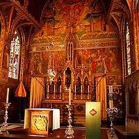 Europe, Belgium, Brugges. Basilica of the Holy Blood.