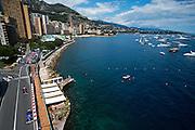May 20-24, 2015: Monaco Grand Prix: Race action during the Monaco Grand Prix, Marcus Ericsson, Sauber Ferrari  leads Max Verstappen, Scuderia Toro Rosso