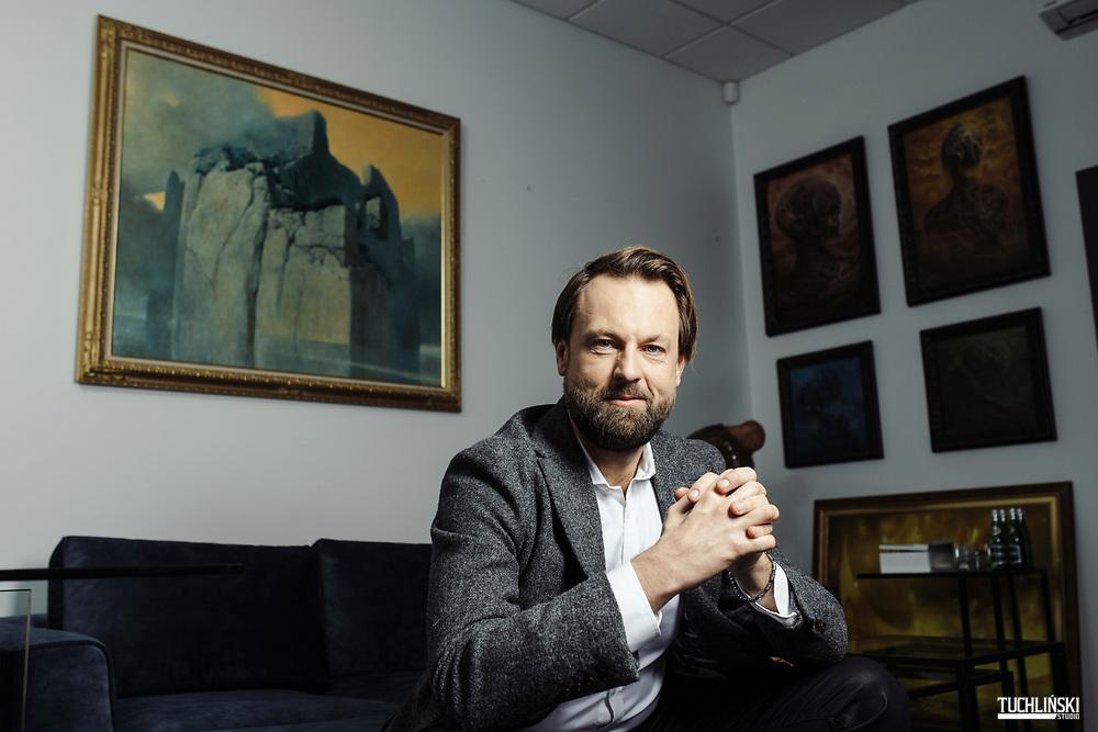 Warszawa, Polska. 26.01.2021r.<br /> Dr Radoslaw L. Kwasnicki - radca prawny. <br /> Fot. Adam Tuchlinski dla Forbes