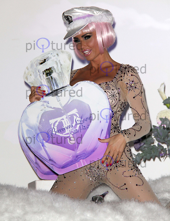 Katie Price Glamour Model Launches her new Fragrance Precious Love, The Worx, Parsons Green, London, UK, 17 November 2010:  Contact: Ian@Piqtured.com +44(0)791 626 2580 (Picture by Richard Goldschmidt)