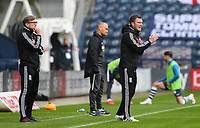 Birmingham City first team coach Craig Gardner shouts instructions to his team from the technical area<br /> <br /> Photographer Alex Dodd/CameraSport<br /> <br /> The EFL Sky Bet Championship - Leeds United v Barnsley - Thursday 16th July 2020 - Elland Road - Leeds<br /> <br /> World Copyright © 2020 CameraSport. All rights reserved. 43 Linden Ave. Countesthorpe. Leicester. England. LE8 5PG - Tel: +44 (0) 116 277 4147 - admin@camerasport.com - www.camerasport.com<br /> <br /> Photographer Alex Dodd/CameraSport<br /> <br /> The EFL Sky Bet Championship - Preston North End v Birmingham City - Saturday 18th July 2020 - Deepdale Stadium - Preston<br /> <br /> World Copyright © 2020 CameraSport. All rights reserved. 43 Linden Ave. Countesthorpe. Leicester. England. LE8 5PG - Tel: +44 (0) 116 277 4147 - admin@camerasport.com - www.camerasport.com