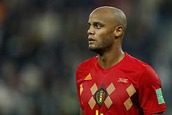 Vincent Kompany of Belgium during the 2018 FIFA World Cup Semi Final match between France and Belgium at the Saint Petersburg Stadium on June 26, 2018 in Saint Petersburg, Russia