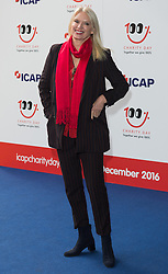 © Licensed to London News Pictures. 07/12/2016. ANNEKA RICE arrives to attend ICAP Annual Charity Day where the companies revenue and commissions for that day are given to select charities. London, UK. Photo credit: Ray Tang/LNP