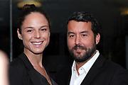 Roman Camenzind mit Ehefrau Nikol anlässlich des Prix Walo 2018.