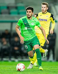 Daniel Avramovski of NK Olimpija during football match between NK Olimpija Ljubljana and NK Kalcer Radomlje in Round #29 of Prva liga Telekom Slovenije 2016/17, on April 17, 2017 in SRC Stozice, Ljubljana, Slovenia. Photo by Vid Ponikvar / Sportida