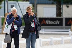 Heltzen Marianne, (NOR), Johnsen Nina, (NOR)<br /> Alltech FEI World Equestrian Games™ 2014 - Normandy, France.<br /> © Hippo Foto Team - Leanjo de Koster<br /> 25/06/14