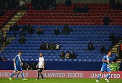 Empty seats during play at the Macron Stadium - Mandatory byline: Matt McNulty/JMP - 19/01/2016 - FOOTBALL - Macron Stadium - Bolton, England - Bolton Wanderers v Eastleigh - FA Cup Third Round