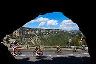 Scenery, landscape, Vallon Pont d'Arc during the 105th Tour de France 2018, Stage 14, Saint-Paul-trois-Chateaux - Mende (188 km) on July 21th, 2018 - Photo Kei Tsuji / BettiniPhoto / ProSportsImages / DPPI