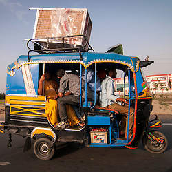 On the way to Amritsar, India.