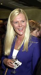 MISS IMOGEN BREWER former linked with the new Lord Lucan, at a party in London on 4th October 2000.OHP 19