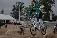 #500 (REZENDE Renato) BRA at the 2014 UCI BMX Supercross World Cup in Santiago Del Estero, Argentina.