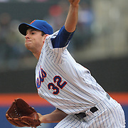 NEW YORK, NEW YORK - MAY 04:  Pitcher Steven Matz #32 of the New York Mets pitching during the Atlanta Braves Vs New York Mets MLB regular season game at Citi Field on May 04, 2016 in New York City. (Photo by Tim Clayton/Corbis via Getty Images)