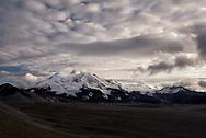 Mount Mageik, a volcano in The Valley of Ten Thousand Smokes, Alaska.