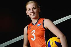 07-04-2014 NED: SELECTIE JONG ORANJE: ARNHEM<br /> Volleybalteam Jong Oranje / Charlotte Haar<br /> ©2014-FotoHoogendoorn.nl