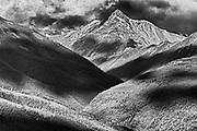 Purcell Mountains at sunrise, Radium, British Columbia, Canada<br />Radium<br />British Columbia<br />Canada