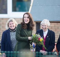 Duchess of Cambridge will arriving at St Catherine's Primary School.