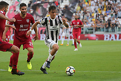 August 19, 2017 - Turin, Piedmont, Italy - Paulo Dybala (Juventus FC) in action during the Serie A football match between Juventus FC and Cagliari Calcio at Allianz Stadium on august 19, 2017 in Turin, Italy. (Credit Image: © Massimiliano Ferraro/NurPhoto via ZUMA Press)