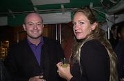 Ros Kemp and Imogen Edwards-Jones. Yoo party. Hall Rd. London NW8. 28 September 2000. © Copyright Photograph by Dafydd Jones 66 Stockwell Park Rd. London SW9 0DA Tel 020 7733 0108 www.dafjones.com