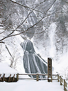 The Hagoramo Waterfall in Daisetsuzan National Park, Hokkaid?, Japan