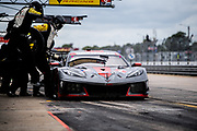 March 20, 2021. IMSA Weathertech Mobil 1 12 hours of Sebring: #3 Corvette Racing Corvette C8.R, GTLM: Antonio Garcia, Jordan Taylor, Nicky Catsburg