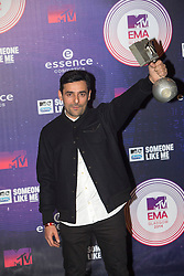 Gun.<br /> Red carpet at the MTV EMA, Glasgow.