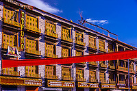 Beijing East Road, Tibet (Xizang), China.