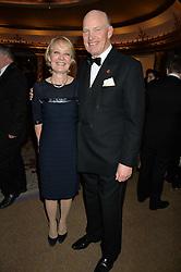 JOHN GOSDEN and RACHEL GOSDEN at the 26th Cartier Racing Awards held at The Dorchester, Park Lane, London on 8th November 2016.