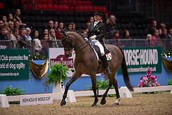 Truesdale Yvette (IRL) - Has to be Fun<br /> Grand Prix - Reem Acra FEI World Cup Dressage Qualifier - The London International Horse Show Olympia - London 2012<br /> © Hippo Foto - Jon Stroud