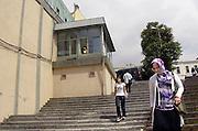 Turkije, Istanbul, 4-6-2011Vrouwelijke studenten aan de universiteit van Istanbul. Foto: Flip Franssen