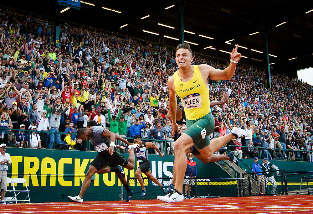 2016 U.S. Olympic Track and Field Trials at Hayward Field in Eugene, Ore., on Saturday, July 9, 2016. (Ryan Kang/The Register-Guard)
