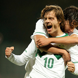 20111110: SLO, Football - UEFA U21 Championship Qualification game, Slovenia U21 vs Lithuania U21