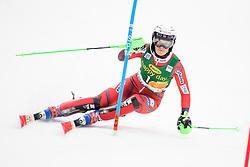 January 7, 2018 - Kranjska Gora, Gorenjska, Slovenia - Nina Haver-Loeseth of Norway competes on course during the Slalom race at the 54th Golden Fox FIS World Cup in Kranjska Gora, Slovenia on January 7, 2018. (Credit Image: © Rok Rakun/Pacific Press via ZUMA Wire)